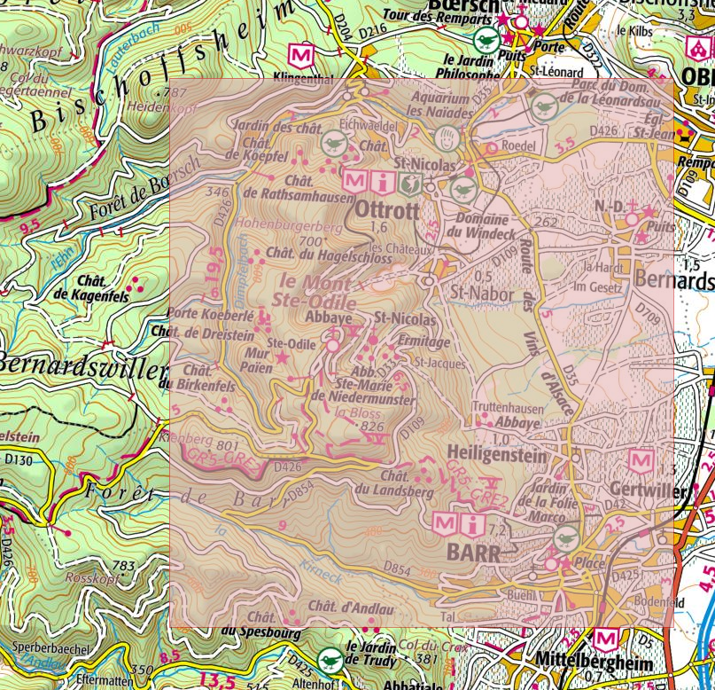 Rando et VTT : dispositifs GPS et cartographie